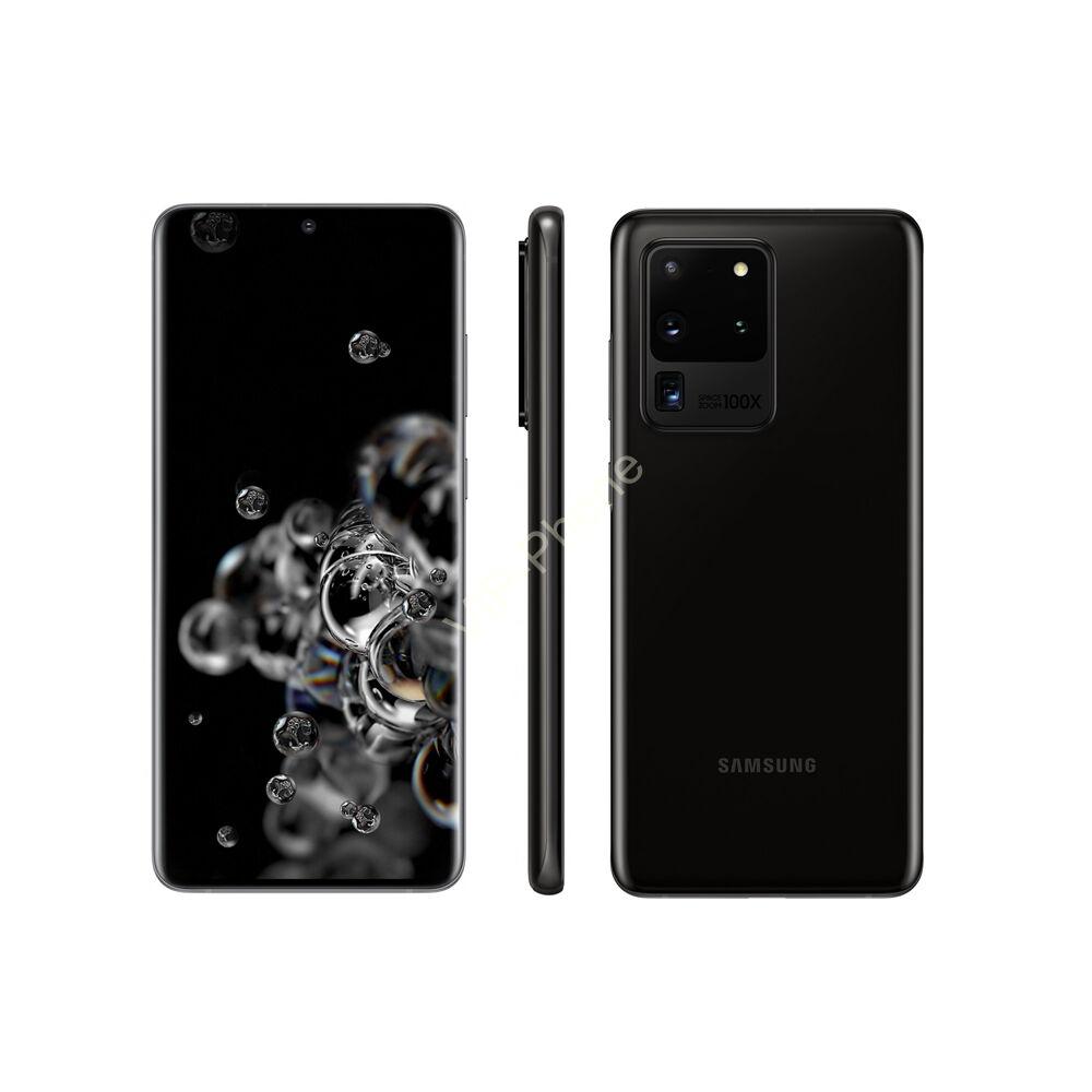 Samsung G988 Galaxy S20 Ultra 5G 128GB Dual-Sim fekete kártyafüggetlen mobiltelefon