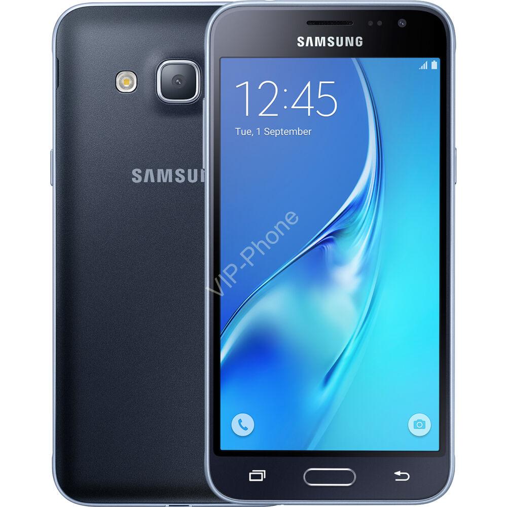 Samsung Galaxy J3 2016 (J320F/DS) Dual-Sim Fekete gyártói garanciás kártyafüggetlen mobiltelefon