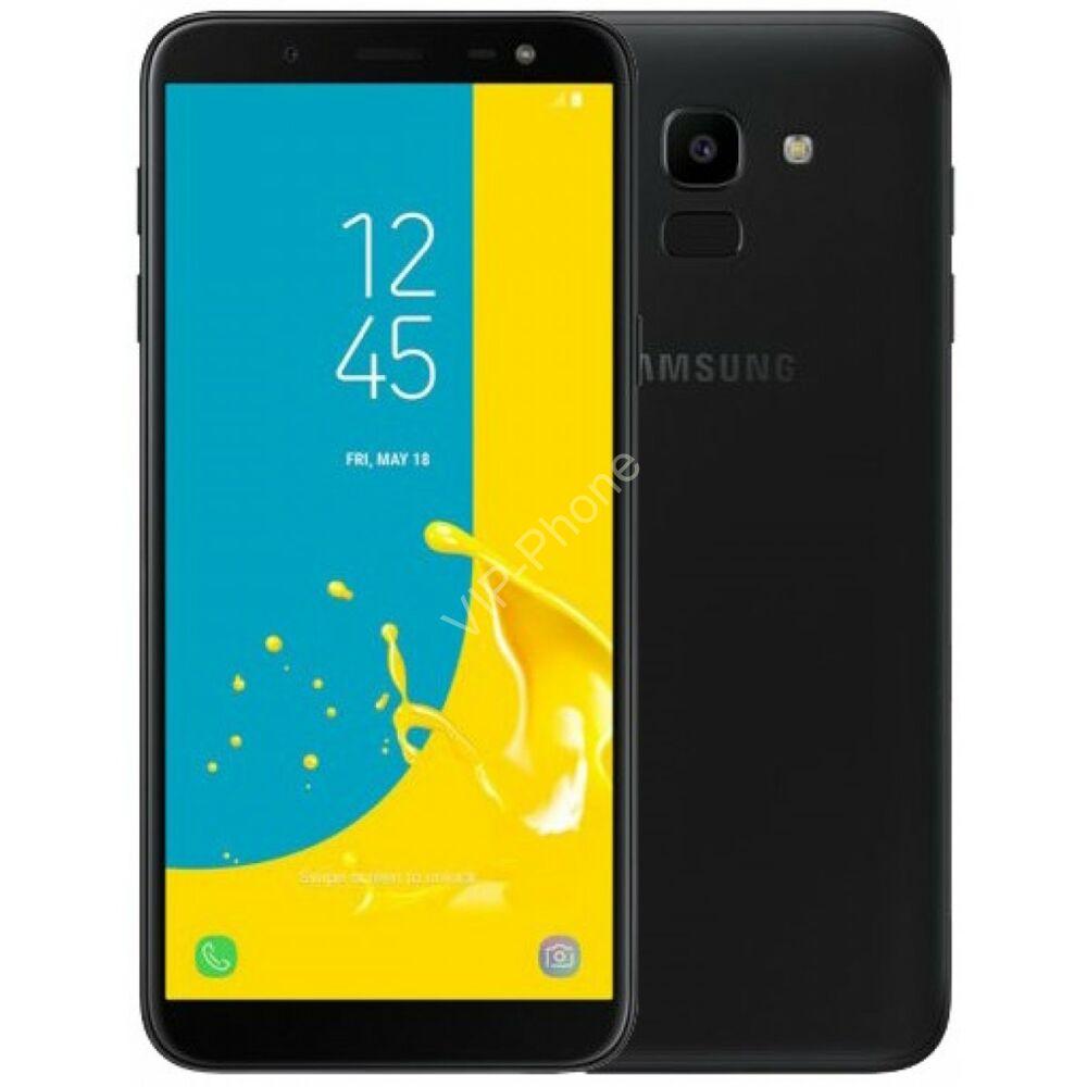 Samsung J600F Galaxy J6 (2018) Dual-Sim fekete kártyafüggetlen mobiltelefon