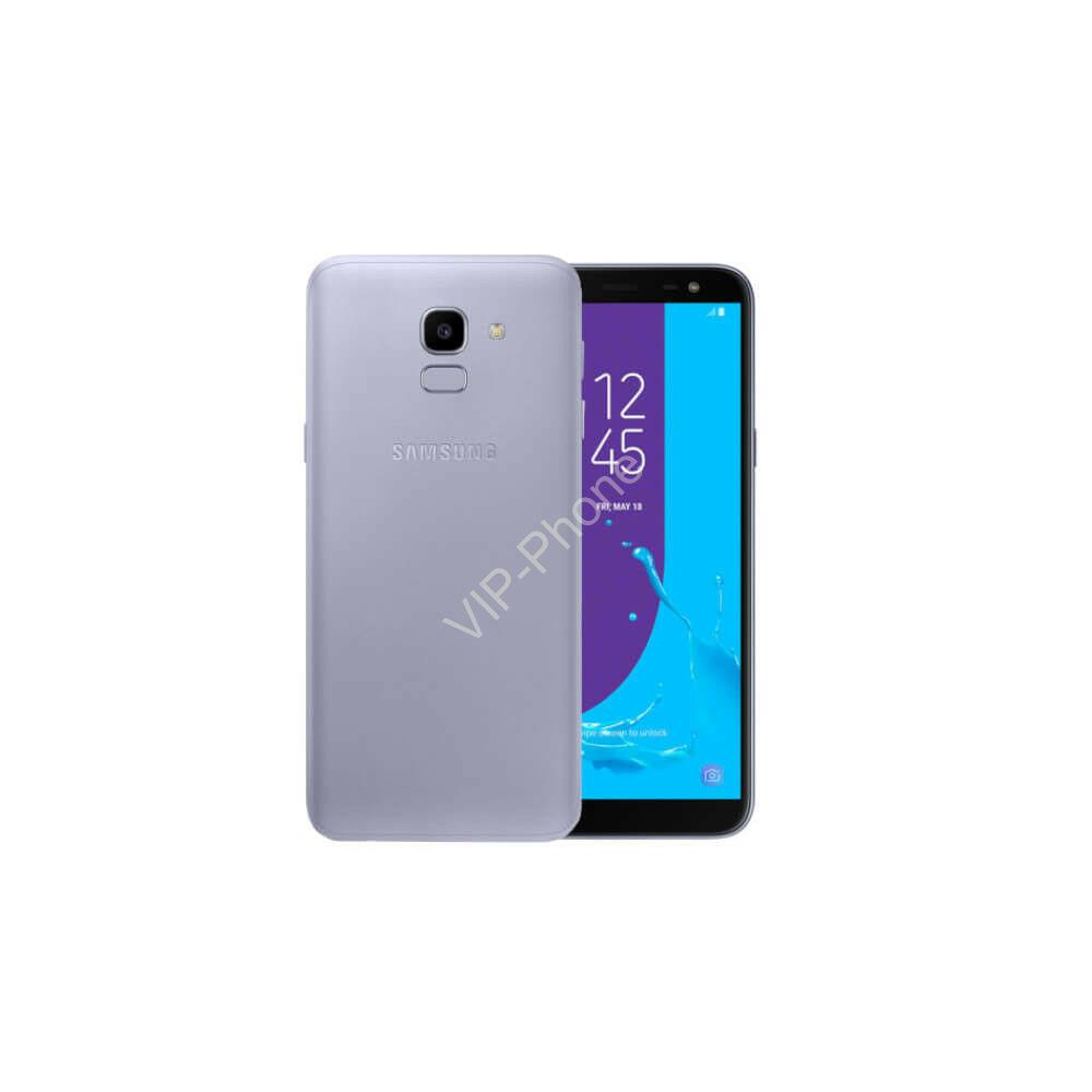Samsung J600F Galaxy J6 (2018) Dual-Sim lila kártyafüggetlen mobiltelefon