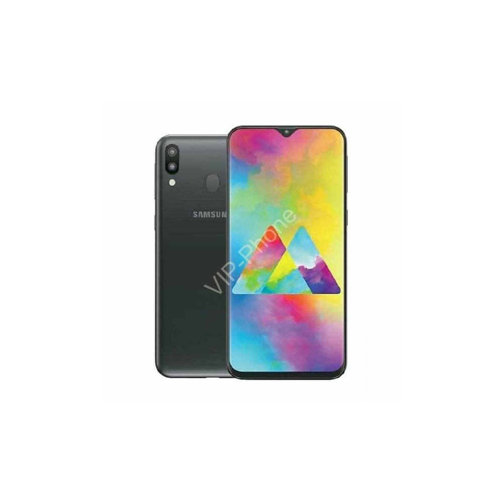 Samsung M205F Galaxy M20 4/64GB Dual-Sim fekete kártyafüggetlen mobiltelefon