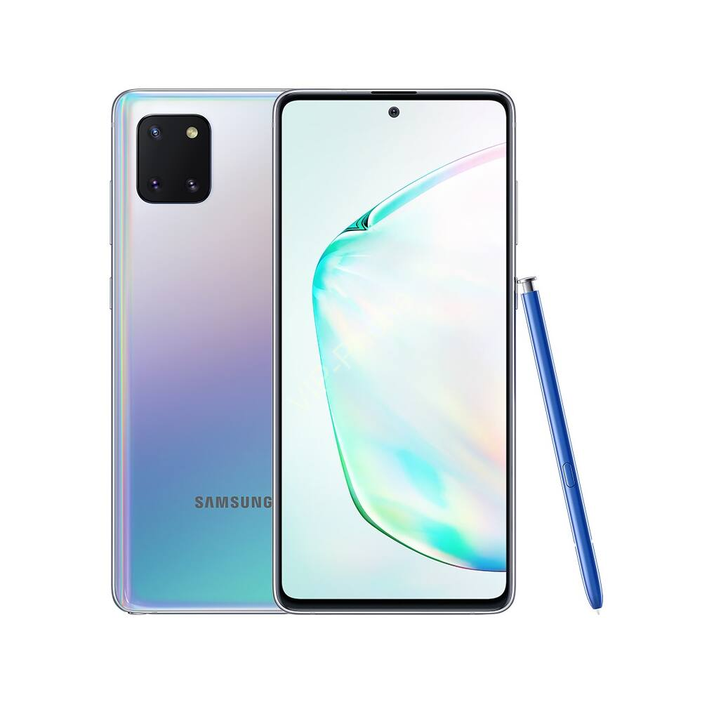 Samsung N770 Galaxy Note Lite 10 128GB Dual-Sim ezüst gyártói garanciás kártyafüggetlen mobiltelefon