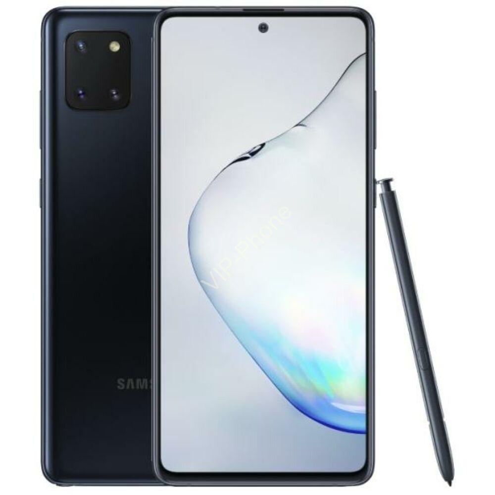 Samsung N770 Galaxy Note Lite 10 128GB Dual-Sim fekete kártyafüggetlen mobiltelefon