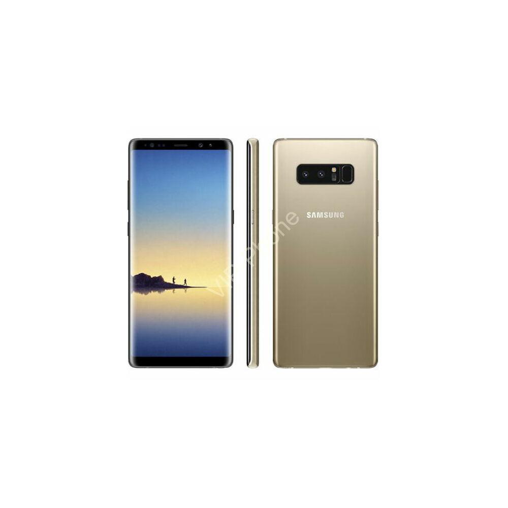 Samsung N950F Galaxy Note 8 64GB  Dual-Sim arany gyártói garanciás kártyafüggetlen mobiltelefon