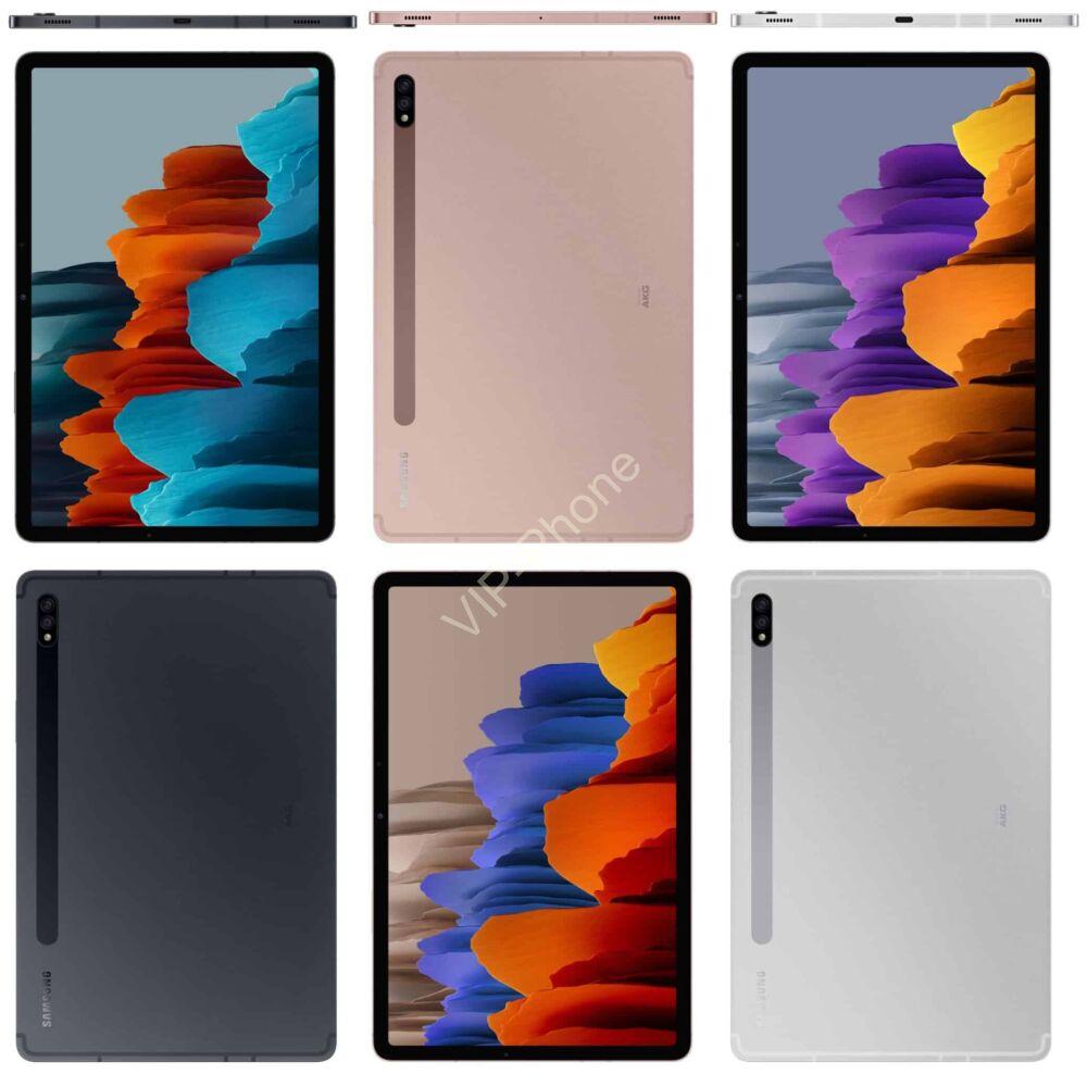 Samsung T970 Galaxy Tab S7+ 12.4 WiFi 128GB Bronze tablet