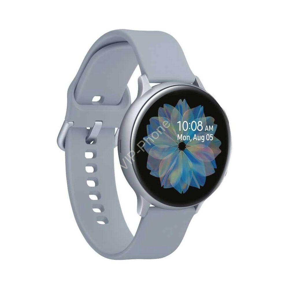 Samsung R820 Galaxy Watch Active 2 44mm alumínium ezüst gyártói garanciás okosóra