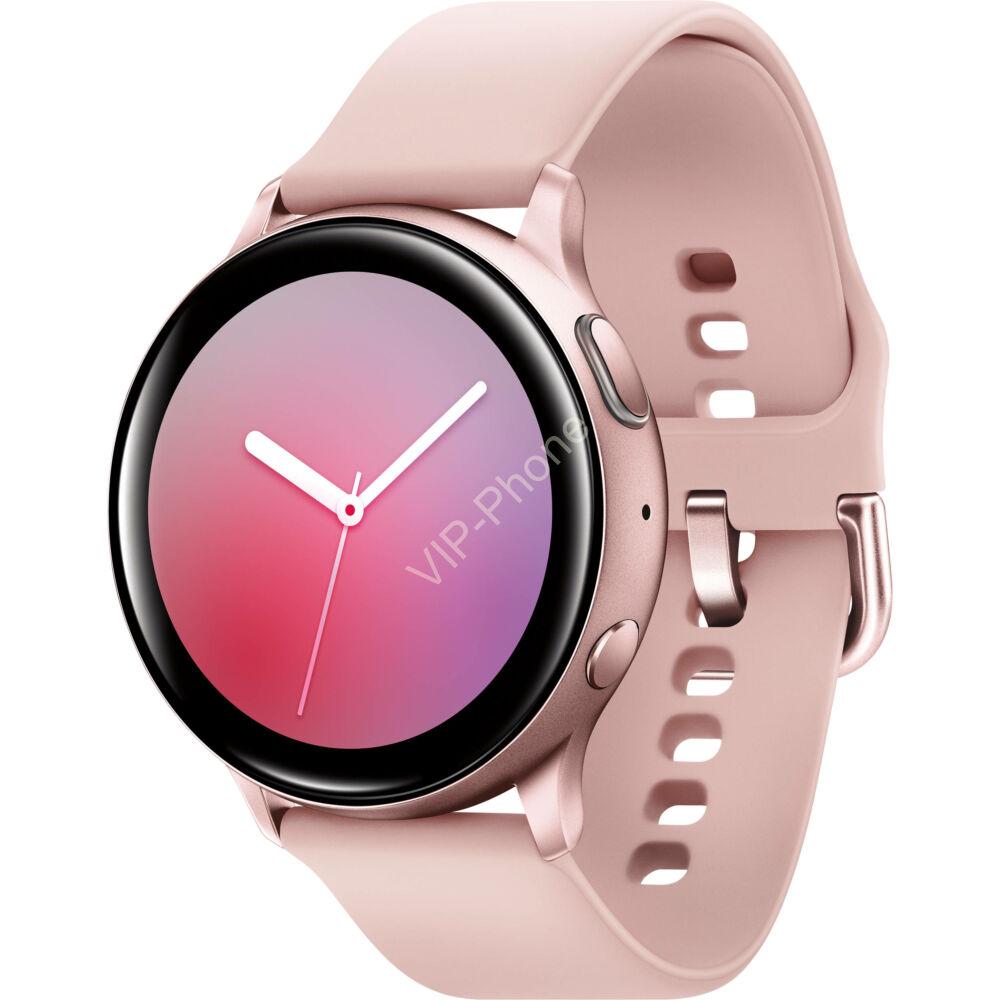 Samsung R830 Galaxy Watch Active 2 40mm alumínium rózsaarany okosóra