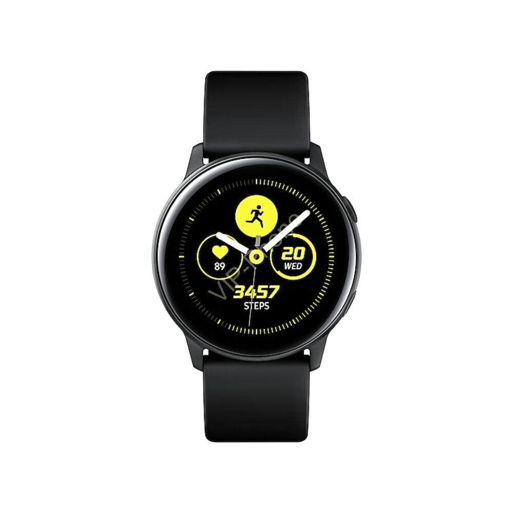 Samsung R500 Galaxy Watch Active fekete okosóra