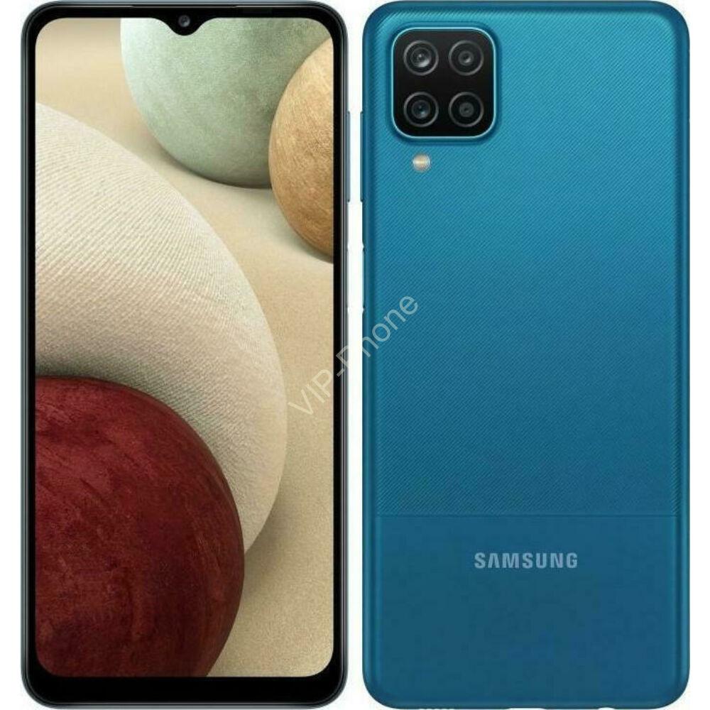 Samsung A127 Galaxy A12 Nacho Dual Sim 4/64GB Kék kártyafüggetlen mobiltelefon
