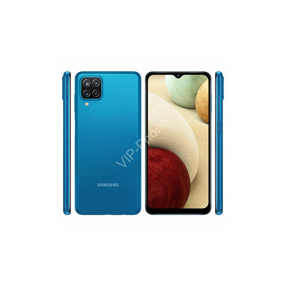 Samsung Galaxy A12 A127 Dual Sim 3GB RAM 32GB Kártyafüggetlen mobiltelefon Kék