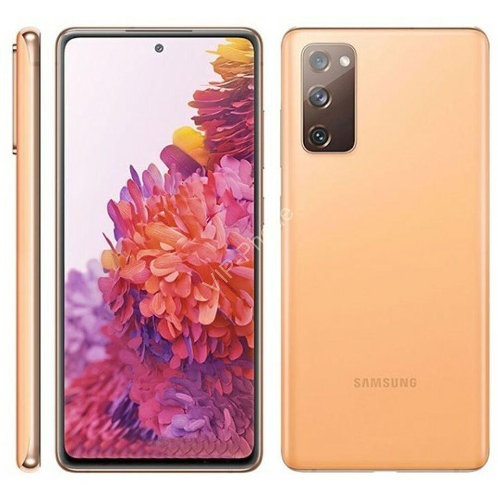 Samsung G780G Galaxy S20FE (2021) 6/128 GB Dual Sim narancsárga kártyafüggetlen mobiltelefon