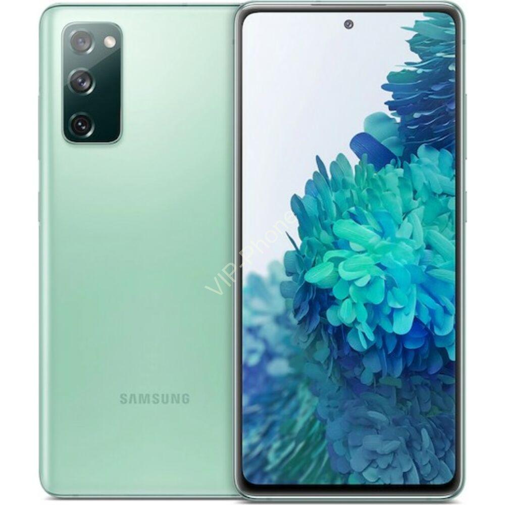 Samsung G780G Galaxy S20 FE (2021) 6/128GB Dual Sim Zöld kártyafüggetlen mobiltelefon