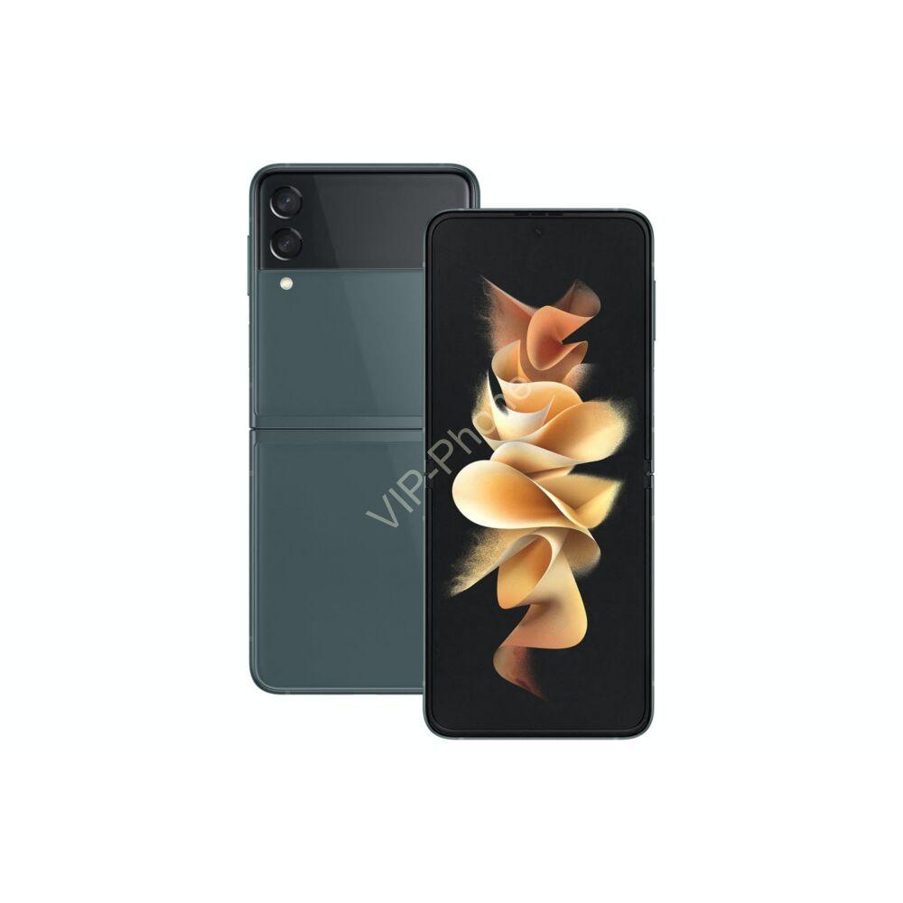 Samsung Galaxy Z Flip3 F711B 5G Dual Sim 8GB RAM 128GB Kártyafüggetlen mobiltelefon - Zöld
