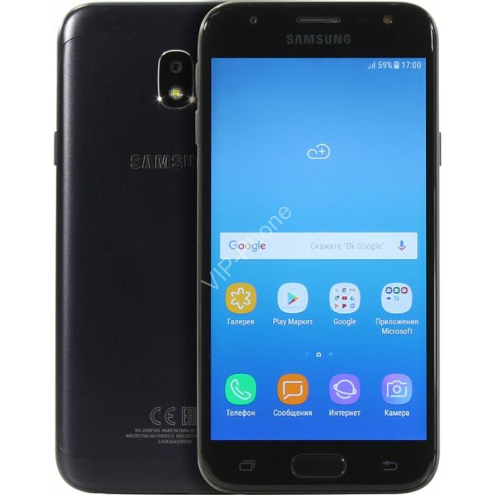 Samsung J330F Galaxy J3 (2017) Dual-Sim fekete kártyafüggetlen mobiltelefon
