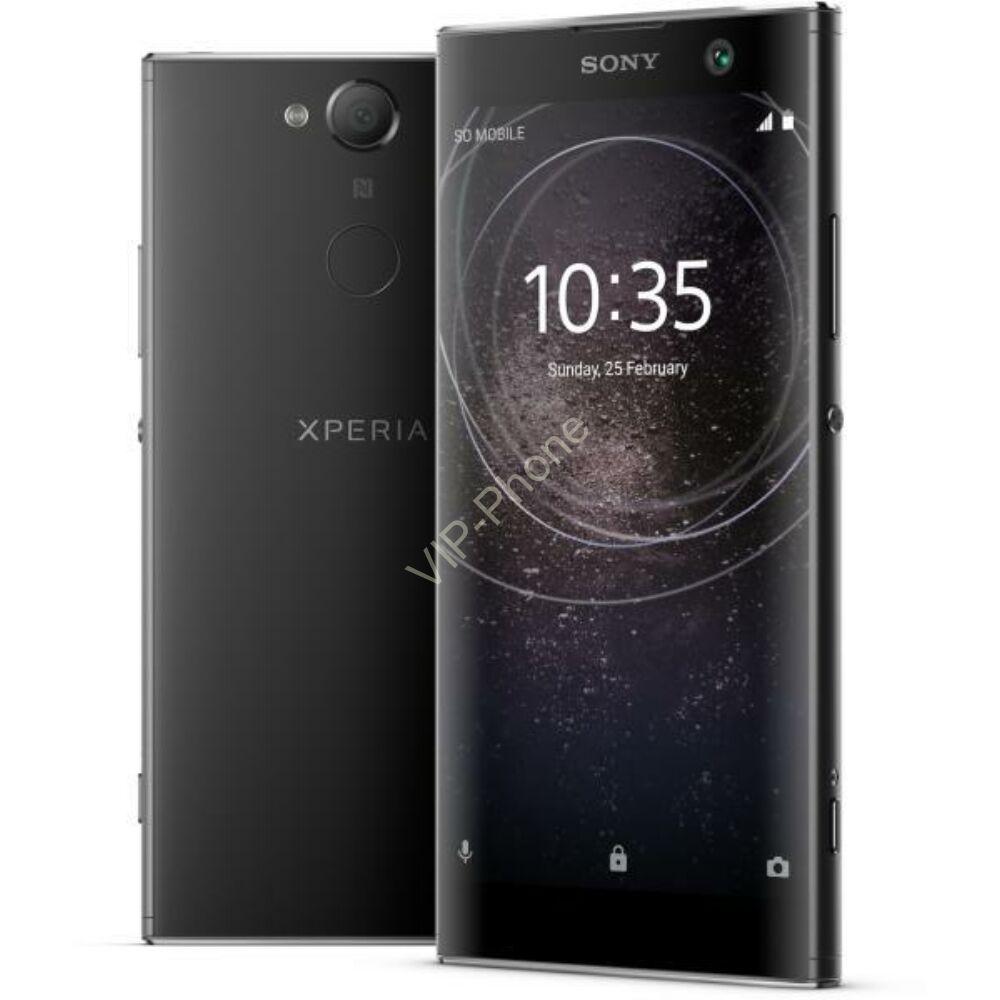 Sony H4113 Xperia XA2 32GB Dual-Sim fekete gyártói garanciás kártyafüggetlen mobiltelefon