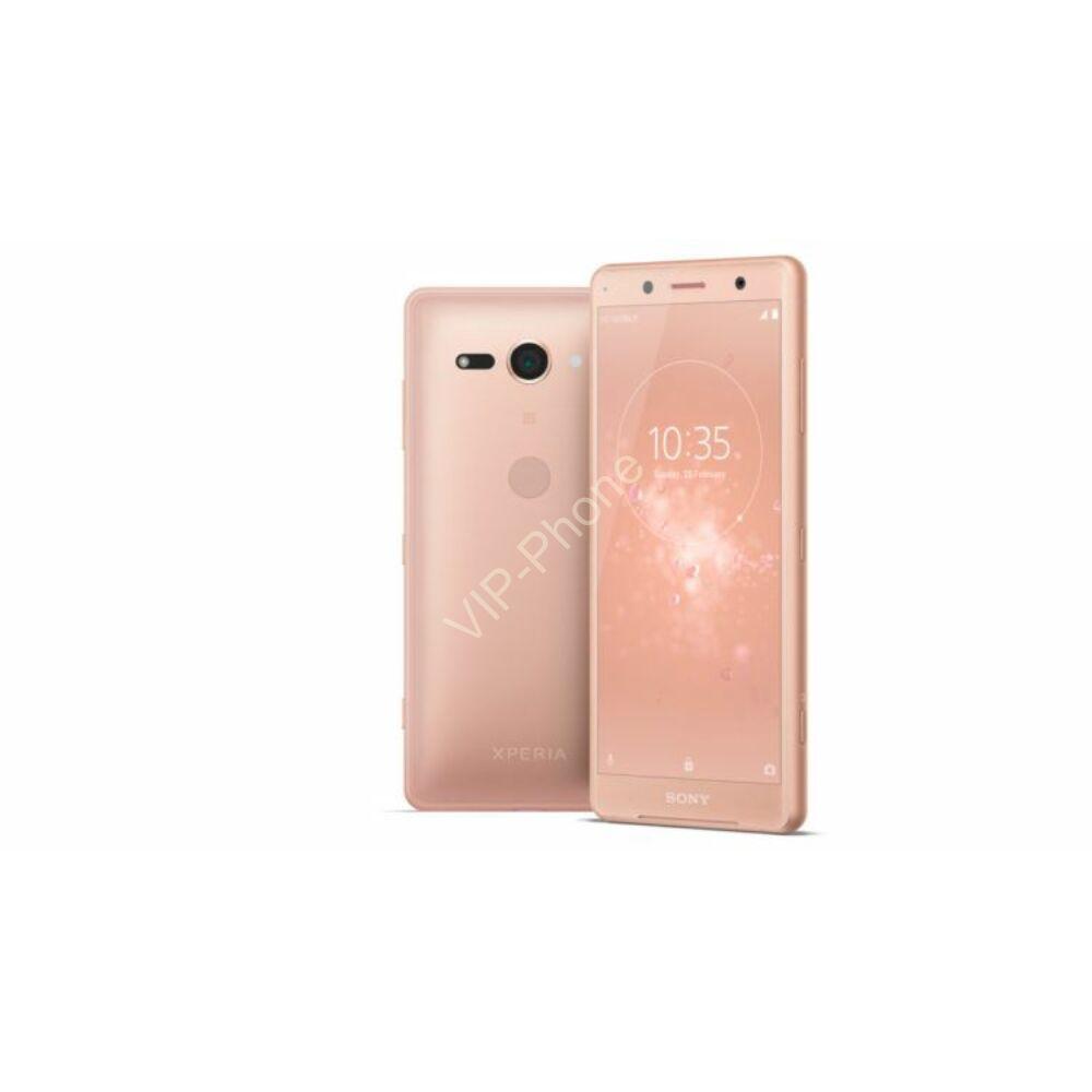 Sony H8324 Xperia XZ2 Compact Dual-Sim rózsaszín kártyafüggetlen mobiltelefon