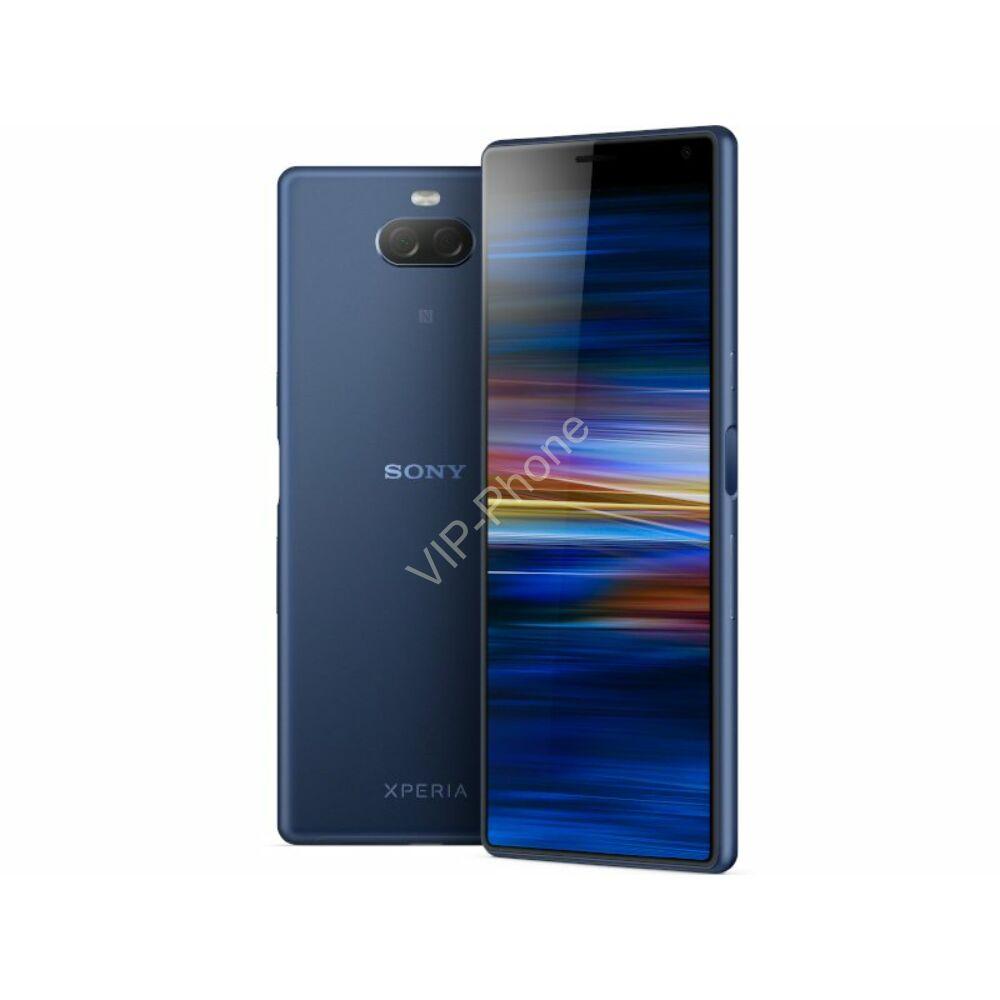 Sony I4213 Xperia 10 Plus Dual-Sim kék gyártói garanciás kártyafüggetlen mobiltelefon