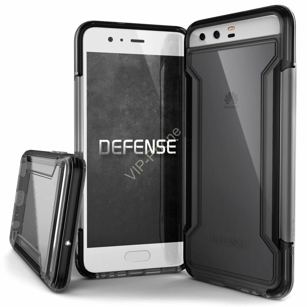 Defense Clear védőtok Huawei P10 Fekete