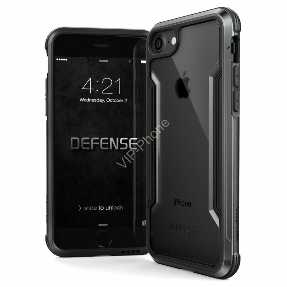 Defense Shield védőtok iPhone 7 / 8 Fekete