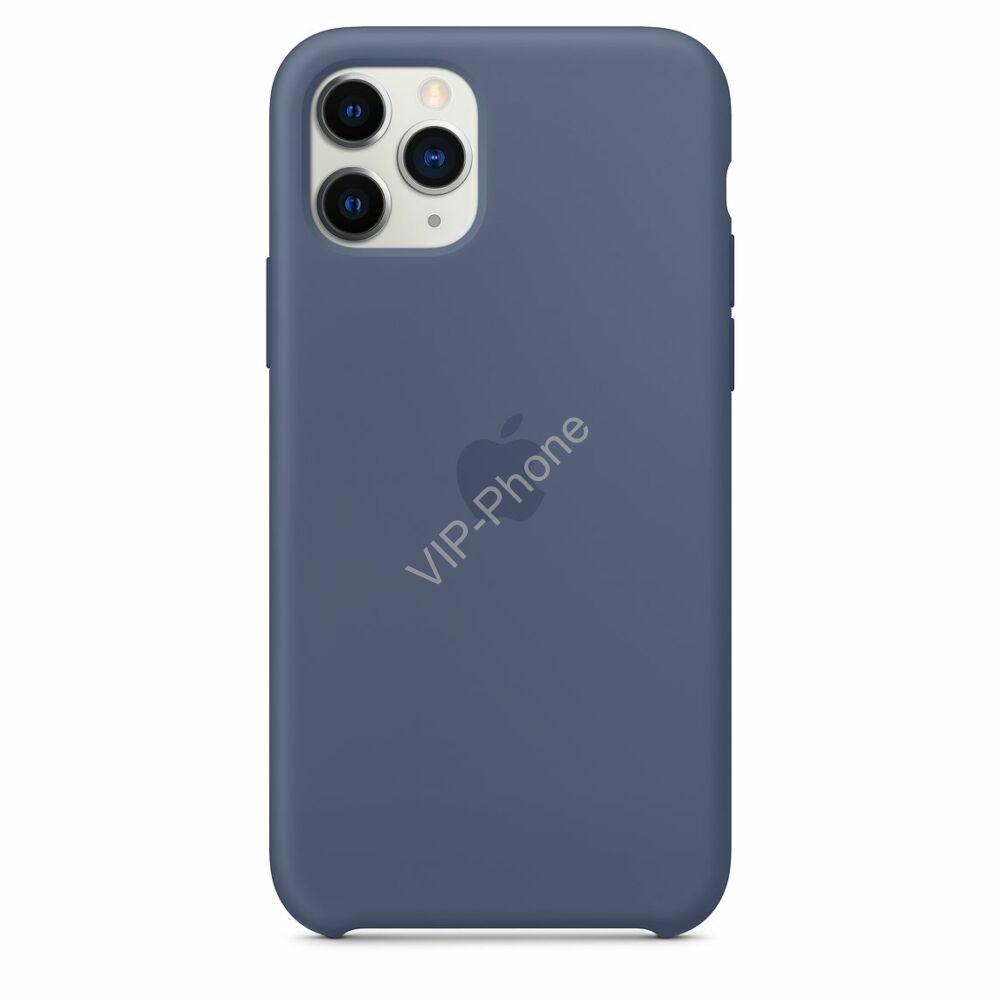 Apple iPhone 11 Pro Max szilikontok, éjkék (mwyw2zm/a)