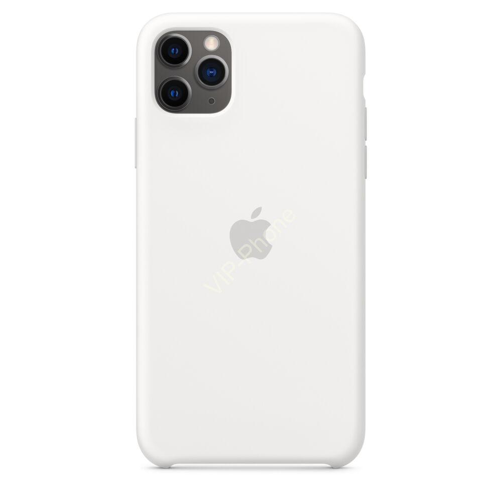 Apple iPhone 11 Pro Max szilikontok, fehér (mwyx2zm/a)