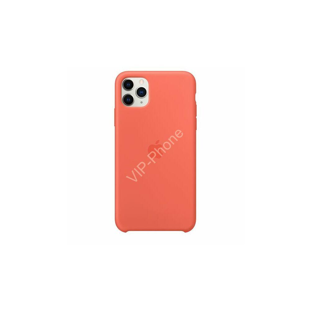 Apple iPhone 11 Pro Max szilikontok, klementin (mx022zm/a)