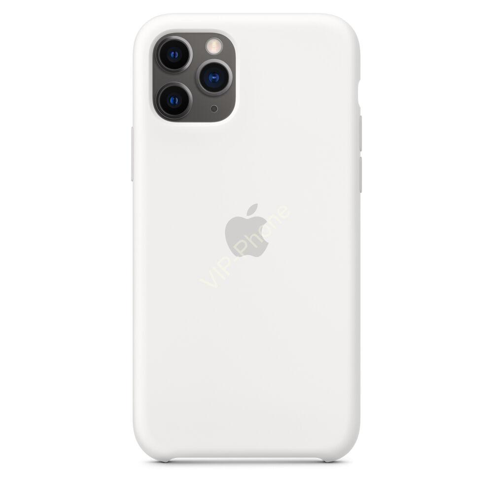 Apple iPhone 11 szilikontok, fehér (mwvx2zm/a)