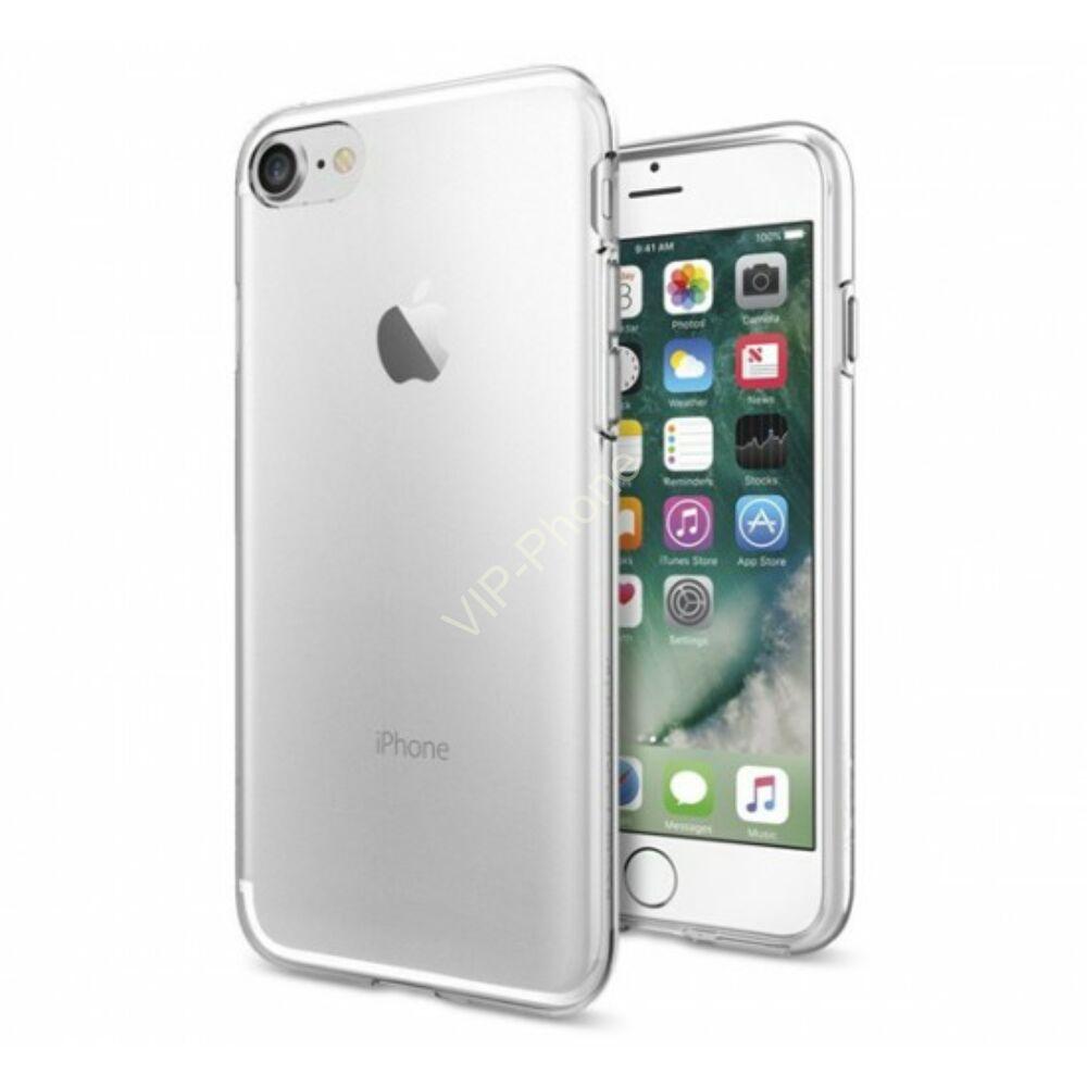 Apple iPhone SE 2020 / iPhone 7 / iPhone 8 szilikon hátlap - Ultra Slim 0,3 mm - transparent