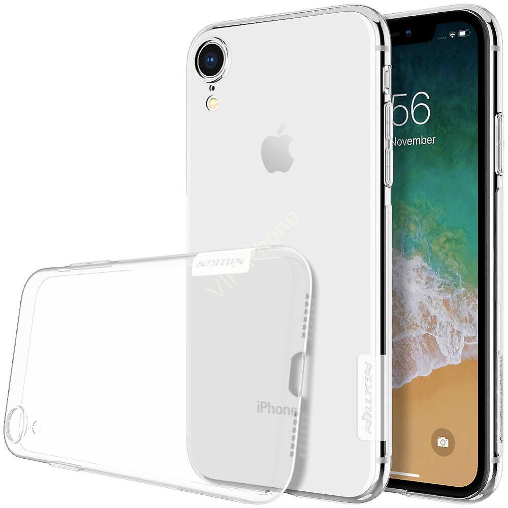Apple Iphone Xr szilikon hátlap - Nillkin Nature - átlátszó