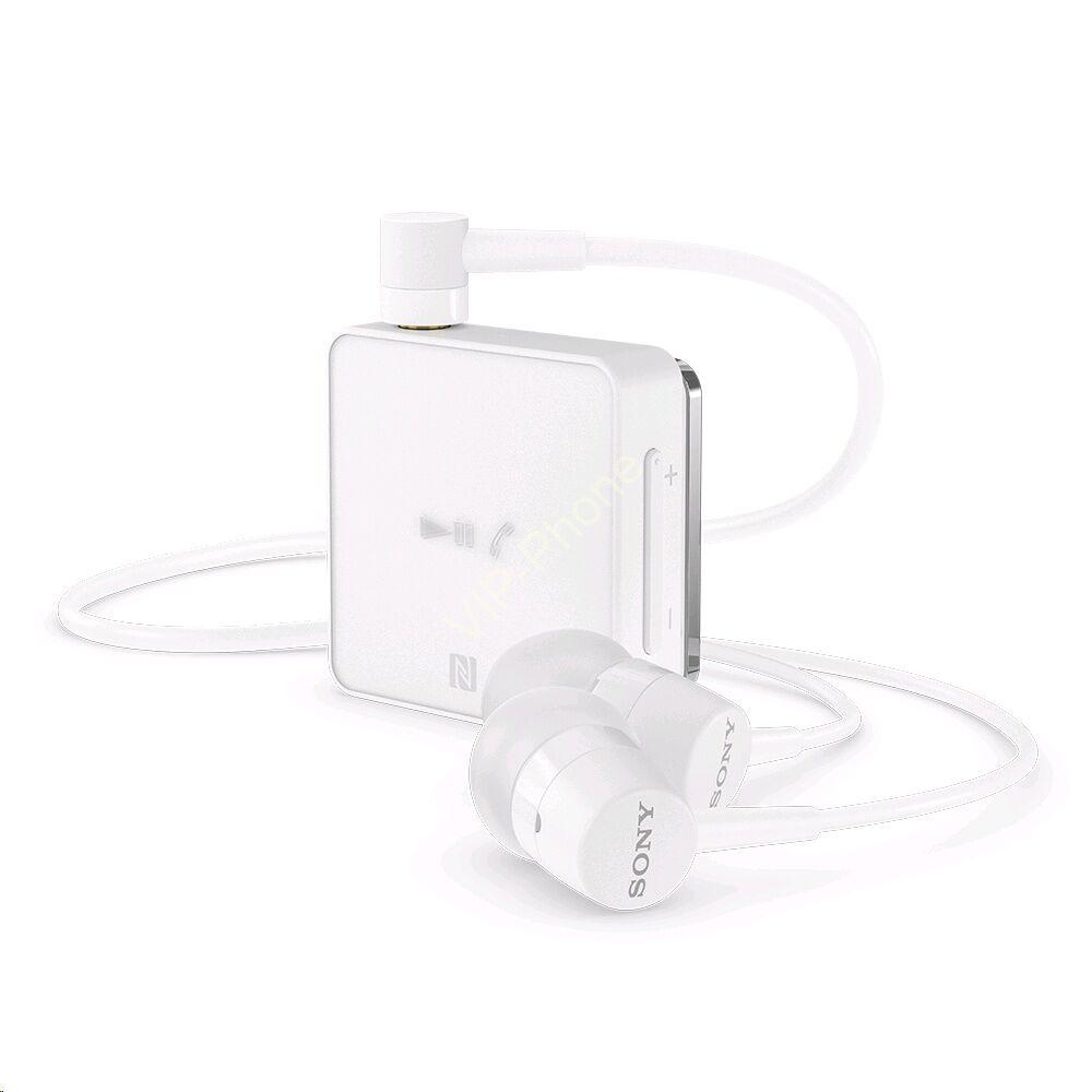 BLUETOOTH fülhallgató SONY SBH-24W vezetékes SZTEREO, NFC, FEHÉR multipoint