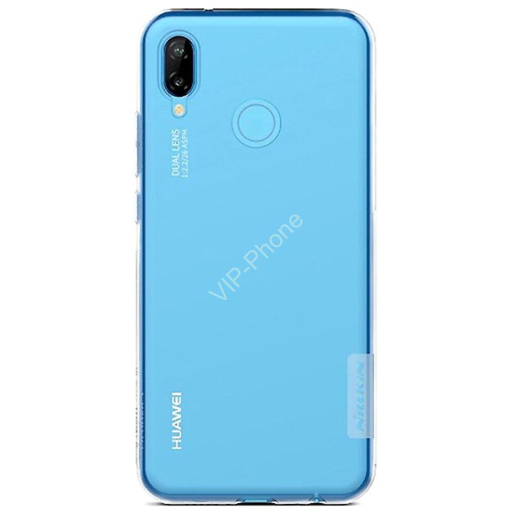 Huawei P20 Lite szilikon hátlap - Nillkin Nature - átlátszó