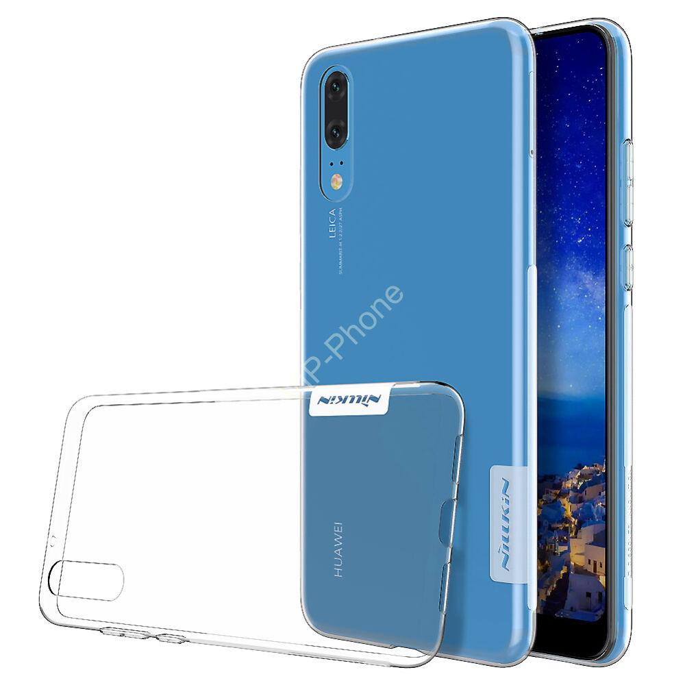 Huawei P20 Pro szilikon hátlap - Nillkin Nature - átlátszó
