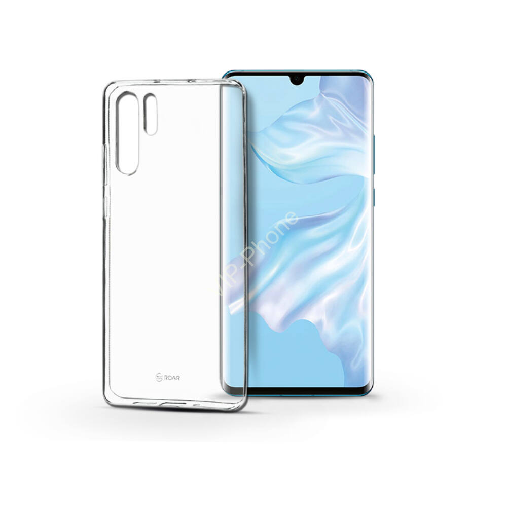 Huawei P30 szilikon hátlap - Roar All Day Full 360 - transparent