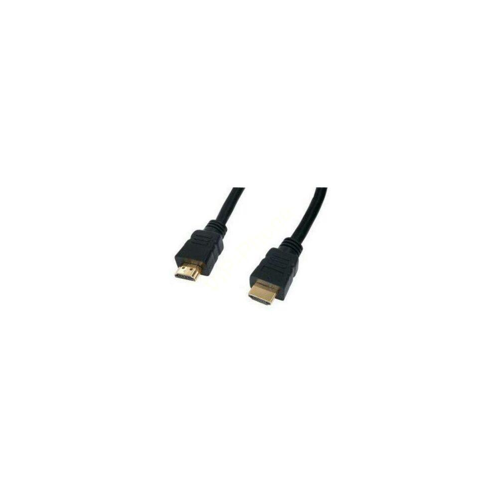 Kábel, HDMI-HDMI kábel 1,5m aranyozott v2.0 nBase