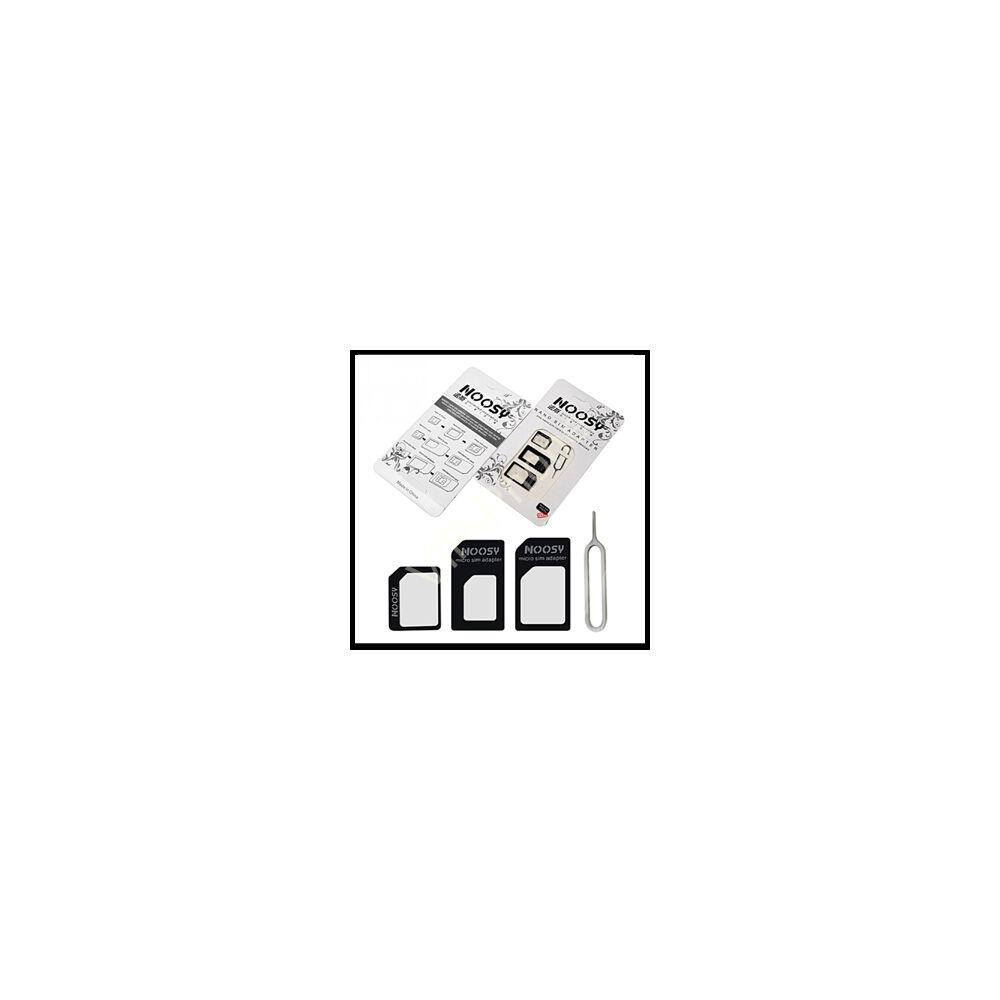 Noosy Nano és Micro SIM-kártya adapter (3 in 1) kiszedő szerszámmal
