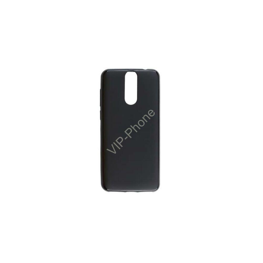 Redmi Note 8 Műanyag telefonvédő (gumírozott) FEKETE