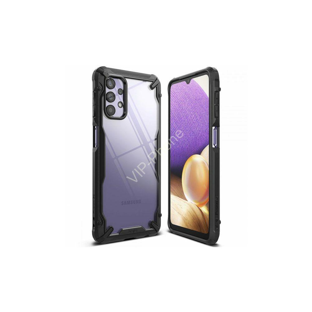 Samsung A326B Galaxy A32 5G ütésálló hátlap - Ringke Fusion X - black