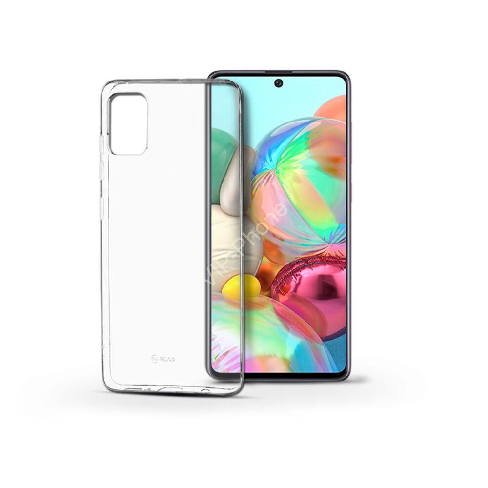 Samsung A715 Galaxy A71 - ROAR ALL DAY szilikon telefonvédő ÁTLÁTSZÓ