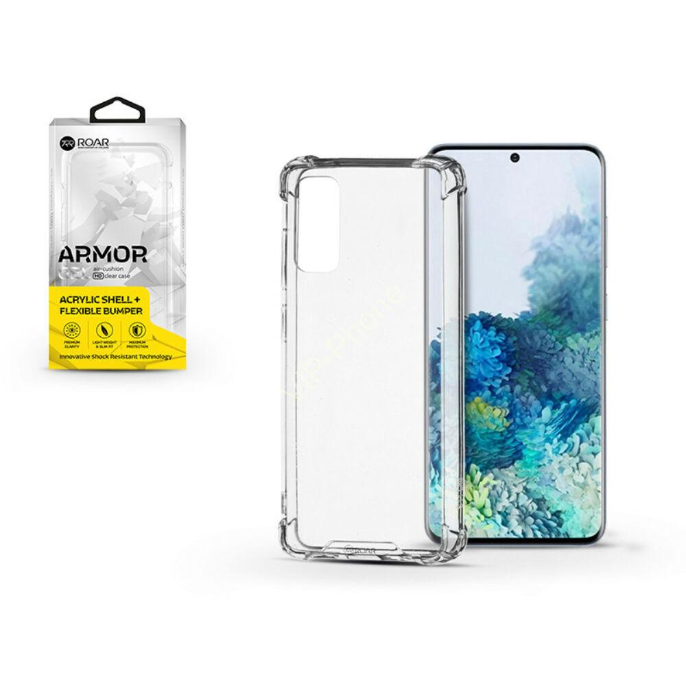 Samsung G980F Galaxy S20 szilikon hátlap - Roar Armor Gel - transparent