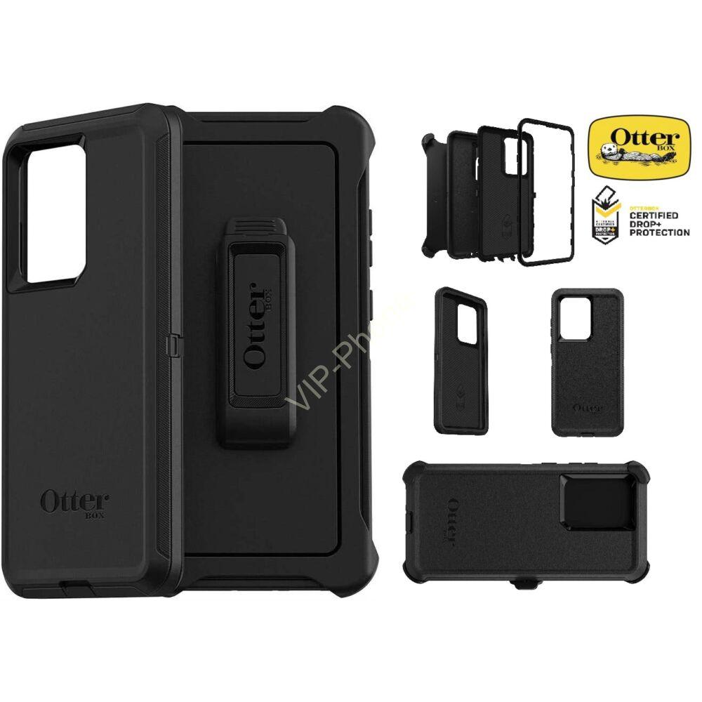 Samsung G988 Galaxy S20 Ultra védőtok - OtterBox  Defender Screenless edition - black
