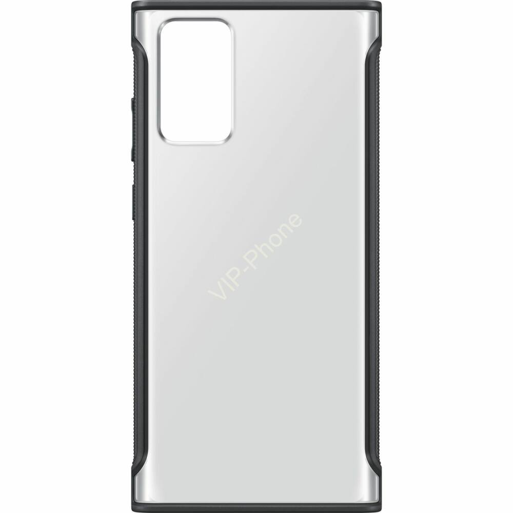 SAMSUNG N980 GALAXY NOTE 20 CLEAR PROTECTIVE COVER GYÁRI TOK, FEKETE, EF-GN980CB