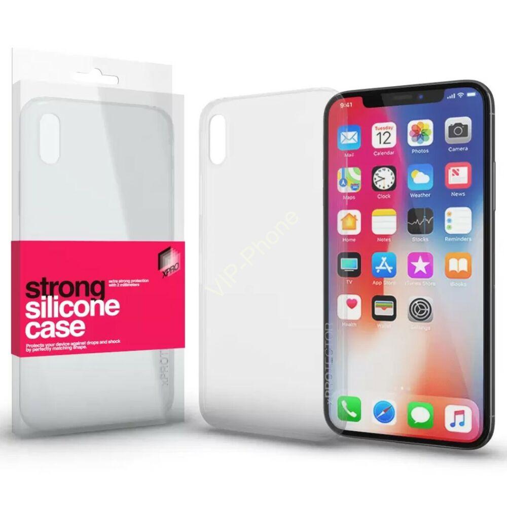 Strong Szilikon tok 2mm Apple iPhone X / XS készülékhez