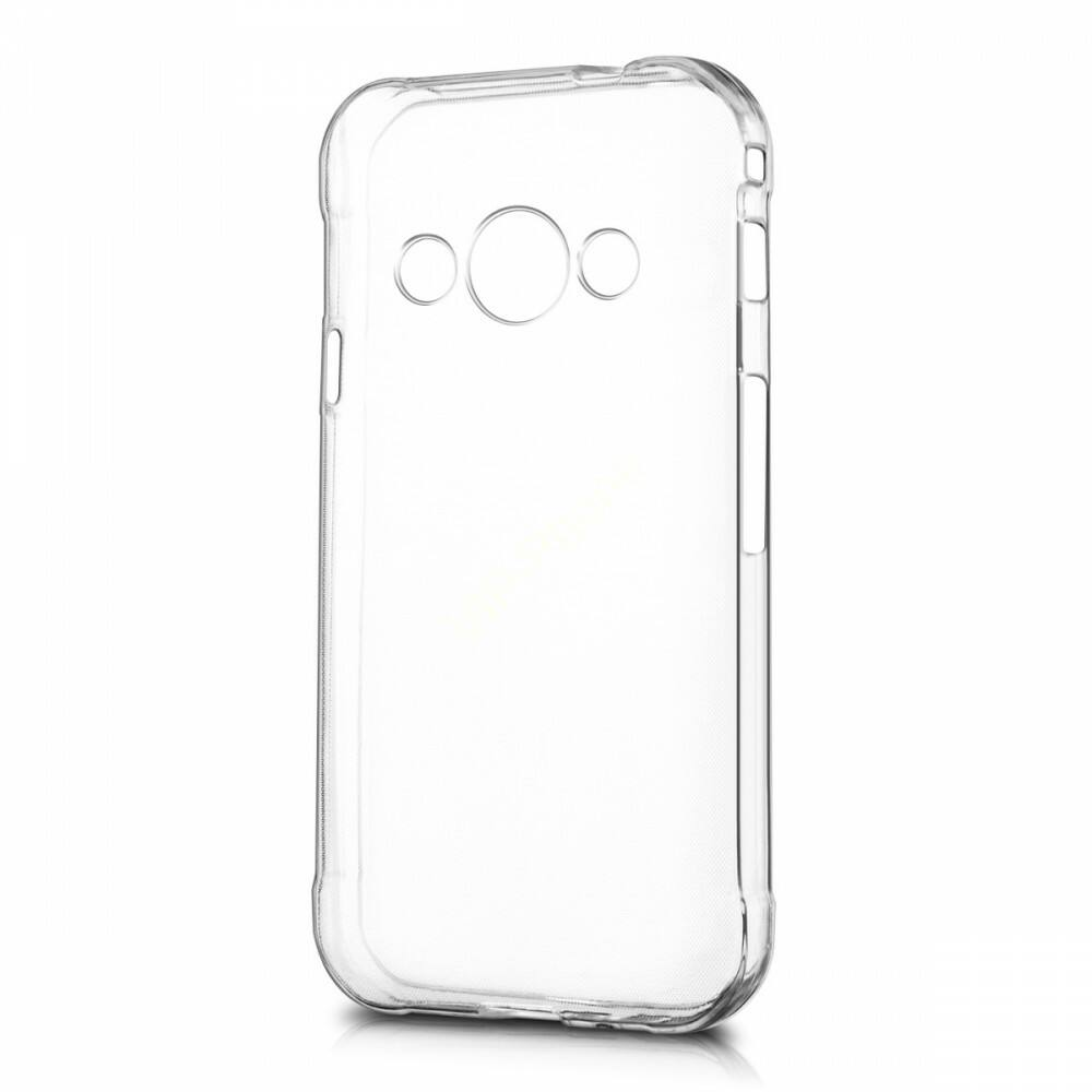 Szilikon telefonvédő (ultravékony) ÁTLÁTSZÓ, Samsung G395 / G398 Galaxy Xcover 4 / 4s készülékhez