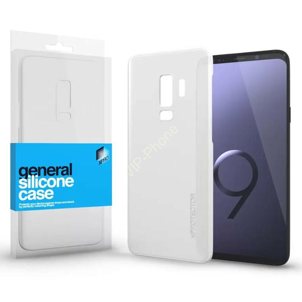 Szilikon tok Case ultra vékony 0.33 mm Samsung S9+ készülékhez