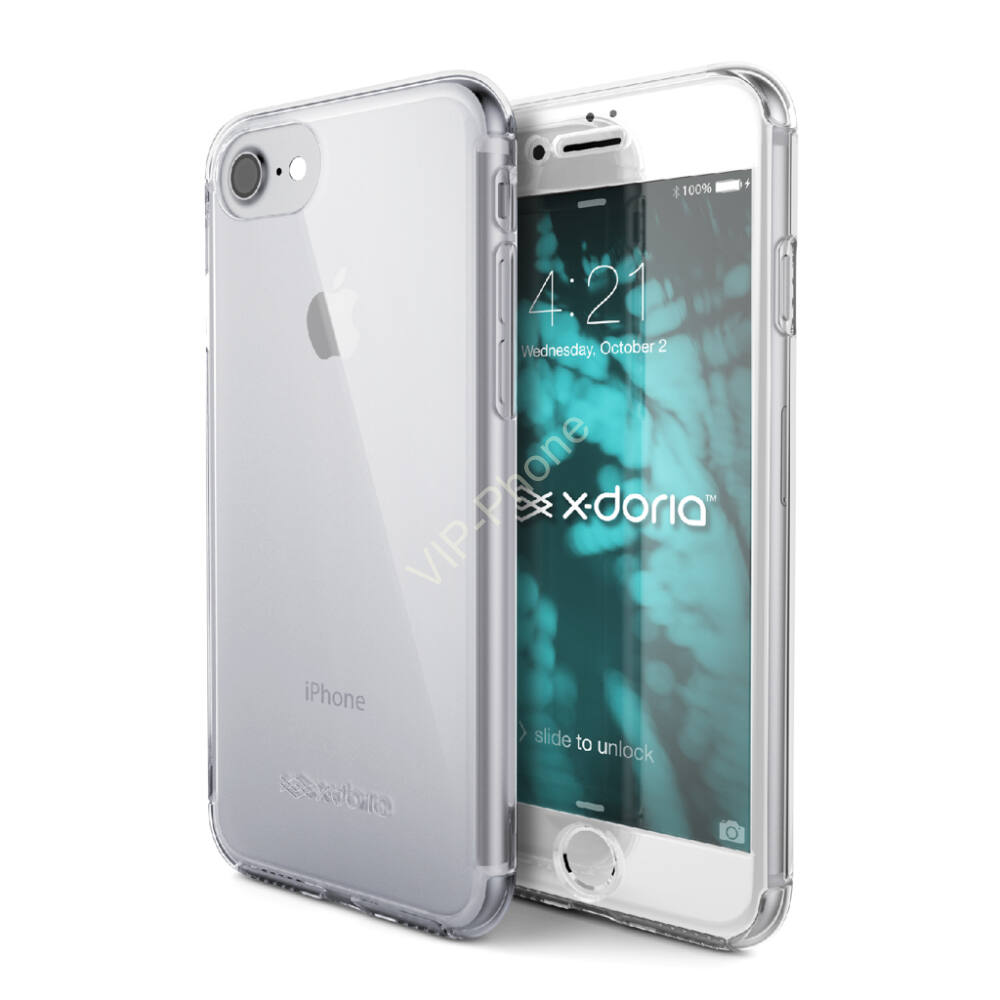X-Doria Defense 360 Glass védőtok iPhone SE 2020 / 7 / 8 Színtelen