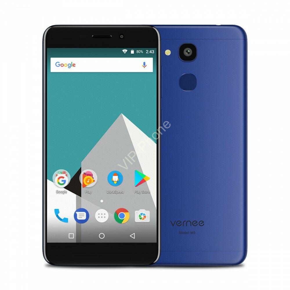 Vernee M5 32GB Dual-Sim kék gyártói garanciás kártyafüggetlen mobiltelefon