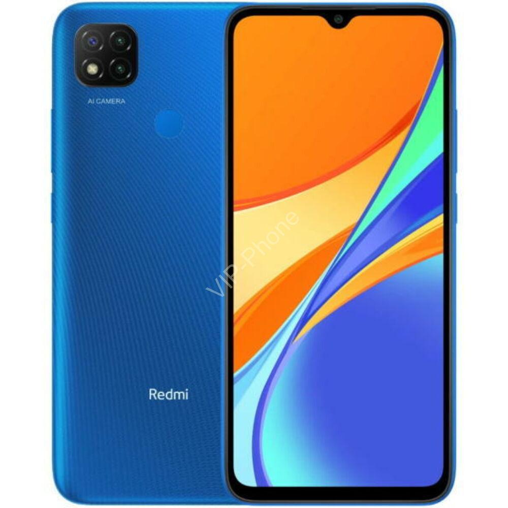 Xiaomi Redmi 9C 2/32GB Dual Sim Kék kártyafüggetlen mobiltelefon