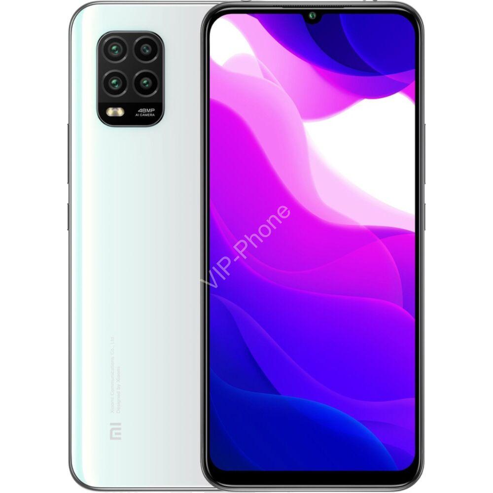 Xiaomi Mi 10 Lite 5G 128GB Dual-Sim fehér kártyafüggetlen mobiltelefon