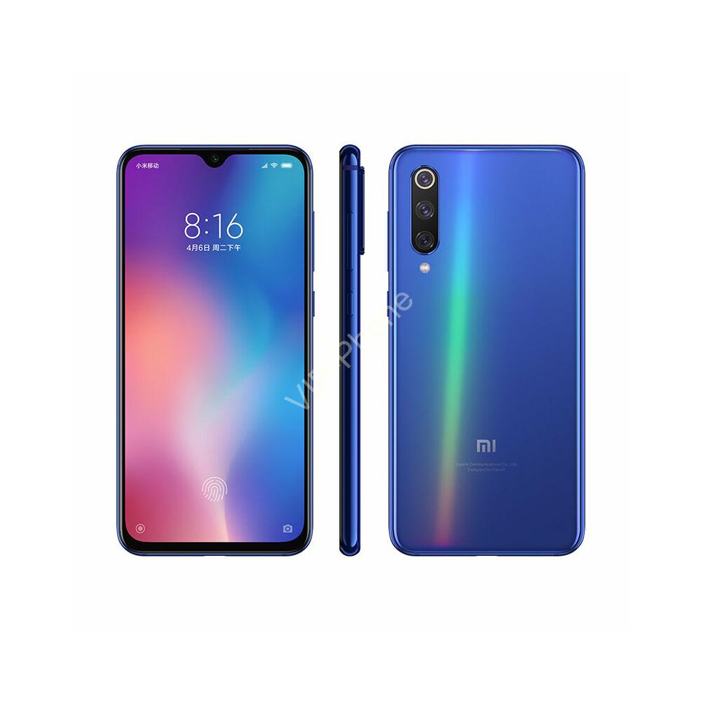 Xiaomi Mi 9 SE 6/128GB Dual-Sim kék gyártói garanciás kártyafüggetlen mobiltelefon