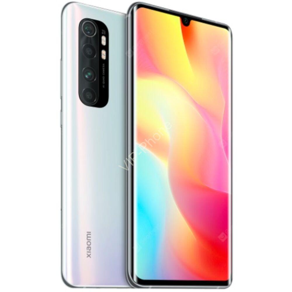 Xiaomi Mi Note Lite 10 64GB Dual-Sim fehér kártyafüggetlen mobiltelefon